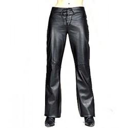 Pantalones de Cuero extra suave forrado por dentro