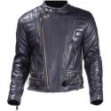 Chaqueta para motos de Cuero con Acolchado, proteccion y comodidad maxima